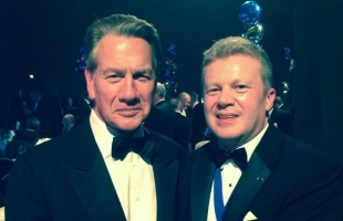 NTDA Director Stefan Hay with Michael Portillo