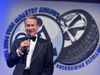 Michael Portillo at NTDA Tyre Industry Awards 2014