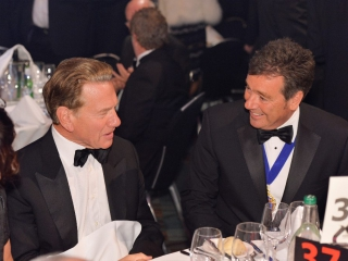 Roger Griggs and Michael Portillo