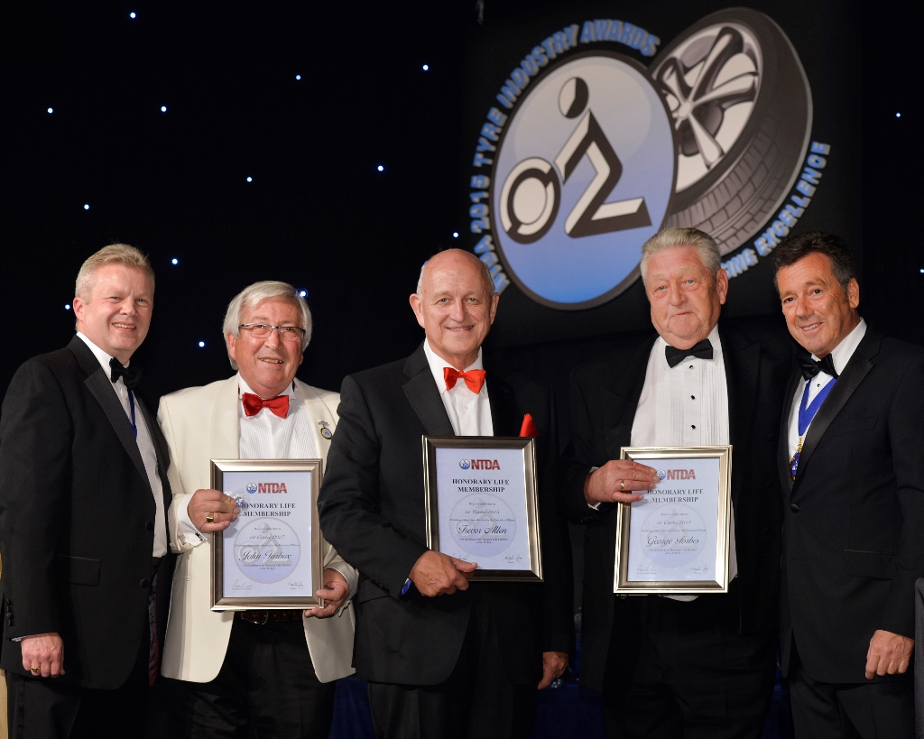 Stefan Hay and Roger Griggs with new NTDA Honorary Life Members