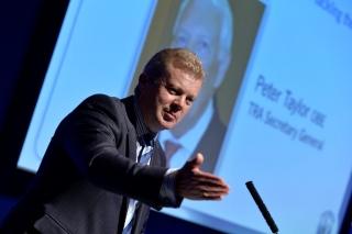 Stefan Hay, NTDA Director at 2015 NTDA Tyre Industry Conference
