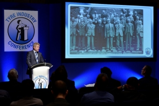 Stefan Hay opning address at 2015 NTDA Tyre Industry Conference