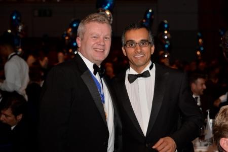 Stefan Hay, NTDA Director with Prashant Chopra of Autogem Invicta