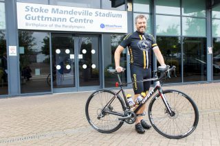 NTDA Immediate Past Chairman to cycle 100 miles for British Wheelchair Sport