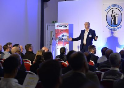 Mark Dolloway of Schaefller UK speaking at NTDA Tyre Industry Conference 2017 (5)