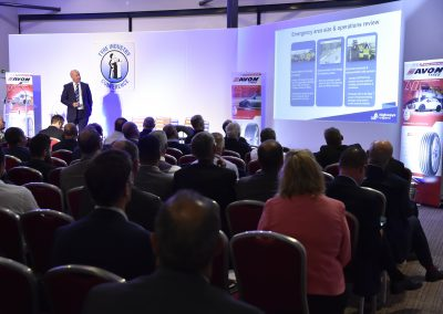 Paul Mcwilliam of Highways England speaking at NTDA Tyre Industry Conference 2017 (15)