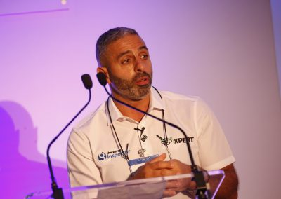 Andy Savva speaking at 2018 NTDA Tyre Industry Conference