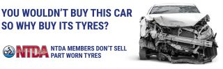 """New campaign launched at 2019 NTDA Tyre Industry Conference: NTDA members say """"NO!"""" to part worn tyres"""