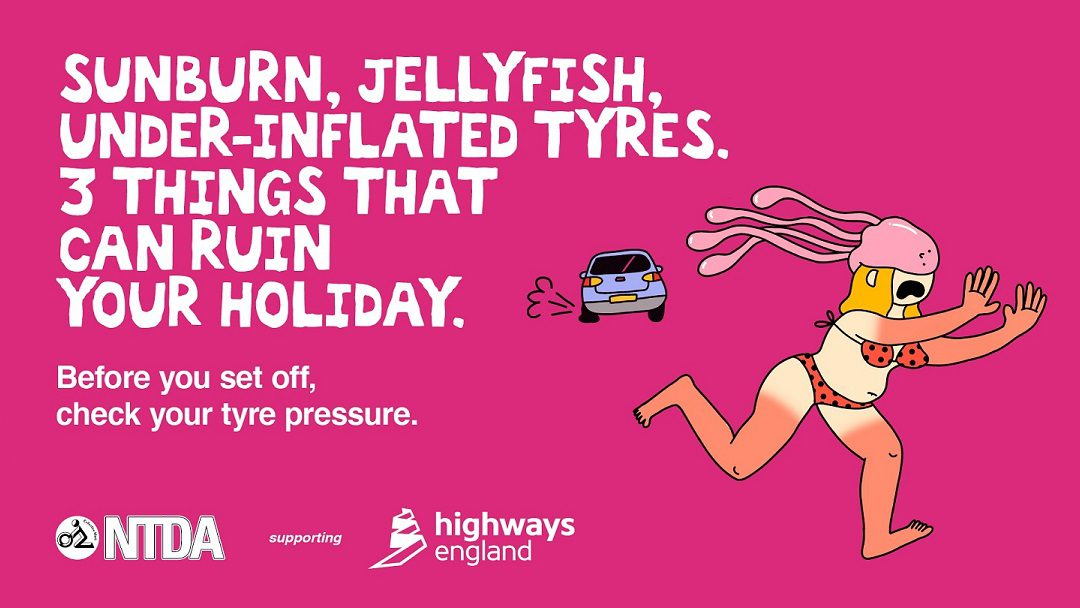 NTDA supports Highways England's 2021 Summer Checks Campaign for Motorists